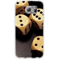 Cover per Huawei G7 Back case in silicone con dadi da gioco