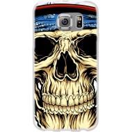 Cover per Huawei G8 Back case in silicone con teschio bandana