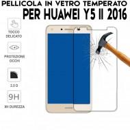Pellicola per Huawei Y5 II 2016 in Vetro Temperato Proteggi Schermo per smartphone