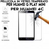 Pellicola per Huawei HONOR 4C-G PLAY MINI in Vetro Temperato Proteggi Schermo