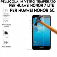 Pellicola per Huawei HONOR 7 LITE Antiurto Vetro Temperato Proteggi Schermo