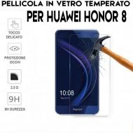 Pellicola per Huawei HONOR 8 Antiurto Vetro Temperato Proteggi Schermo