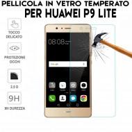 Pellicola per Huawei P9 LITE  Antiurto in Vetro Temperato Proteggi Schermo