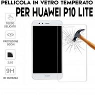 Pellicola per Huawei P10 Lite Antiurto in Vetro Temperato Proteggi Schermo