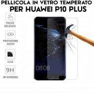 Pellicola per Huawei P10 Plus Antiurto in Vetro Temperato Proteggi Schermo