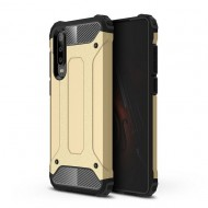 Custodia per Huawei P30 Hybrid Armour TPU+PC Cover robusta e resistente Colore Oro