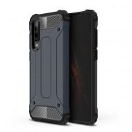 Custodia per Huawei P30 Hybrid Armour TPU+PC Cover robusta e resistente Colore Blu
