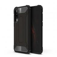 Custodia per Huawei P30 Hybrid Armour TPU+PC Cover robusta e resistente Colore Nero