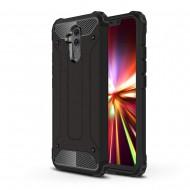 Custodia per Huawei Mate 20 Lite Hybrid Armour TPU+PC Cover robusta e resistente Colore Nero