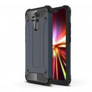 Custodia per Huawei Mate 20 Lite Hybrid Armour TPU+PC Cover robusta e resistente Colore Blu