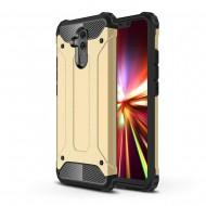 Custodia per Huawei Mate 20 Lite Hybrid Armour TPU+PC Cover robusta e resistente Colore Oro