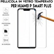 Pellicola per Huawei P Smart Plus Antiurto in Vetro Temperato Proteggi Schermo
