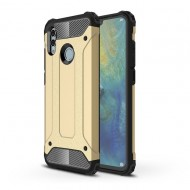 Custodia per Huawei P Smart 2019 Hybrid Armour TPU+PC Cover robusta e resistente Colore Oro