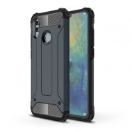 Custodia per Huawei P Smart 2019 Hybrid Armour TPU+PC Cover robusta e resistente Colore Blu