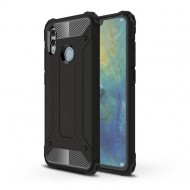 Custodia per Huawei P Smart 2019 Hybrid Armour TPU+PC Cover robusta e resistente Colore Nero