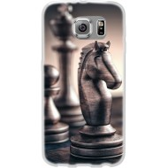 Cover per Lumia 550 in silicone con Pedina Cavallo Scacchi