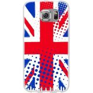 Cover per Lumia 550 in silicone con Bandiera Inglese