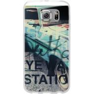 Cover per Lumia 550 in silicone con Fantasia Auto Vintage