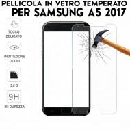 Pellicola in Vetro Temperato Proteggi Schermo x Samsung Galaxy A5 2017 (A520)