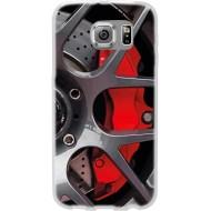 Cover per LG K10 in silicone con Fantasia disco freni sportivi