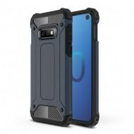 Custodia per Samsung S10e Hybrid Armour TPU+PC Cover robusta e resistente Colore Blu