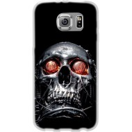 Cover Back case in silicone per samsung  A5 (A500) con techio occhi rossi