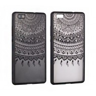 Cover per Samsung S8 custodia rigida bordo in gomma colore nero