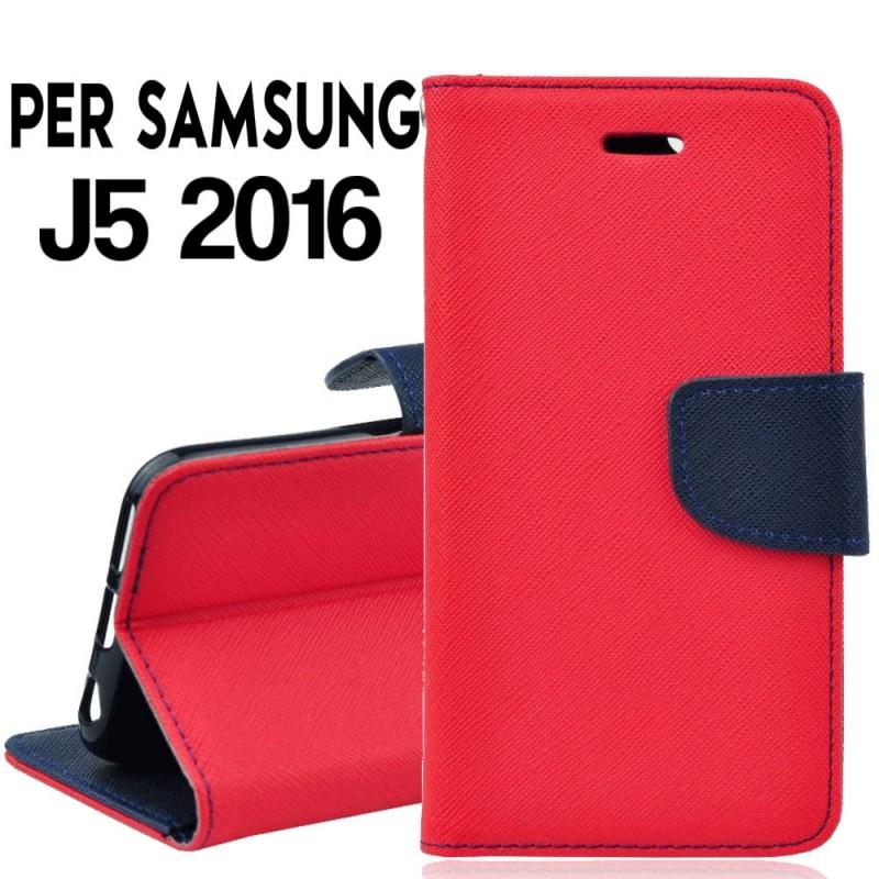 custodia samsung j7 2016 portafoglio