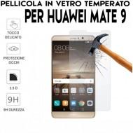 Pellicola per Huawei Mate 9 Antiurto in Vetro Temperato Proteggi Schermo