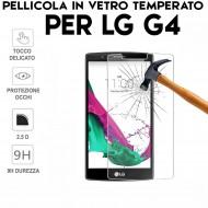Pellicola per LG G4 Antiurto in Vetro Temperato Proteggi Schermo