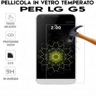 Pellicola per LG G5 Antiurto in Vetro Temperato Proteggi Schermo