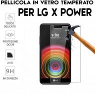 Pellicola per LG X POWER Antiurto in Vetro Temperato Proteggi Schermo