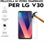 Pellicola per LG V30 Antiurto in Vetro Temperato Proteggi Schermo