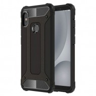 Custodia per Xiaomi S2 Hybrid Armour TPU+PC Cover robusta e resistente Colore Nero