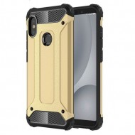 Custodia per Xiaomi S2 Hybrid Armour TPU+PC Cover robusta e resistente Colore Oro