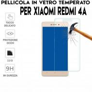 Pellicola per Xiaomi Redmi 4A Antiurto in Vetro Temperato Proteggi Schermo