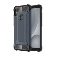Custodia per Xiaomi Redmi A2 Lite e Redmi 6 Hybrid Armour TPU+PC Cover robusta e resistente Colore Blu