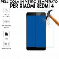 Pellicola per Xiaomi Redmi 4 Antiurto in Vetro Temperato Proteggi Schermo