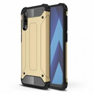 Custodia per Samsung A70 Hybrid Armour TPU+PC Cover robusta e resistente Colore Oro