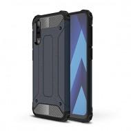 Custodia per Samsung A70 Hybrid Armour TPU+PC Cover robusta e resistente Colore Blu