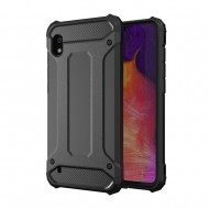 Custodia per Samsung A10 2019 Hybrid Armour TPU+PC Cover robusta e resistente Colore Nero