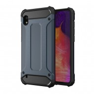 Custodia per Samsung A10 2019 Hybrid Armour TPU+PC Cover robusta e resistente Colore Blu