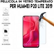 Pellicola per Huawei P20 Lite 2019 Antiurto in Vetro Temperato Proteggi Schermo