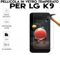 Pellicola per LG K9 ( K8 2018 ) in Vetro Temperato Proteggi Schermo salva display