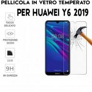 Pellicola per Huawei Y6 2019 in Vetro Temperato Proteggi Schermo per smartphone