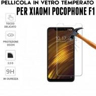 Pellicola per Xiaomi Pocophone F1 Antiurto in Vetro Temperato Proteggi Schermo