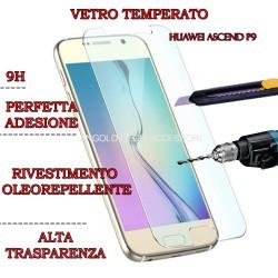 Pellicola per Huawei P9 Antiurto in Vetro Temperato Proteggi Schermo