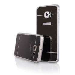 Cover Back case MIRROR black for SAMSUNG Galaxy S6 (G920)