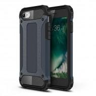 Custodia per Iphone 7-8 e SE 2020 Hybrid Armour TPU+PC Cover robusta e resistente Colore Blu