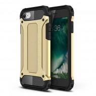 Custodia per Iphone 7-8 e SE 2020 Hybrid Armour TPU+PC Cover robusta e resistente Colore Oro